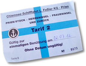 Photo of Ferry Ticket
